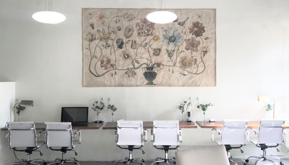 Antique Tapestries - Zachos Design Group Interior Design for Corporate Offices, Healthcare, Retails Design- Anthroplogie-wayfair